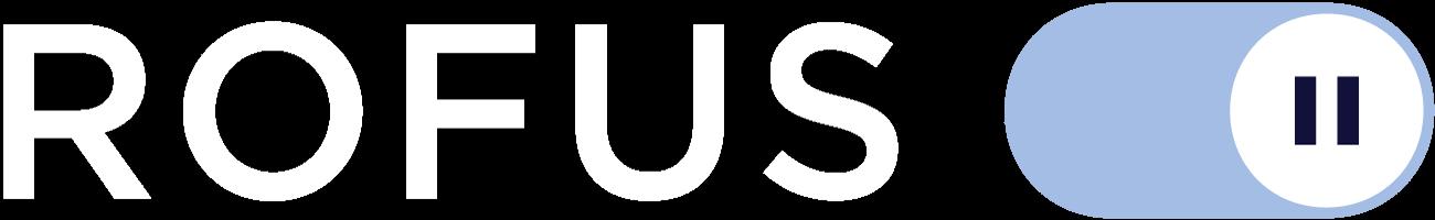 b Logo White