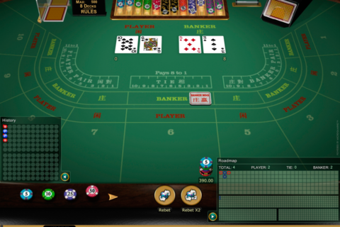baccarat gold microgaming