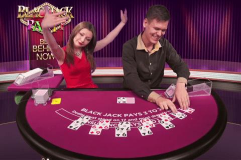 blackjack party evolution gaming