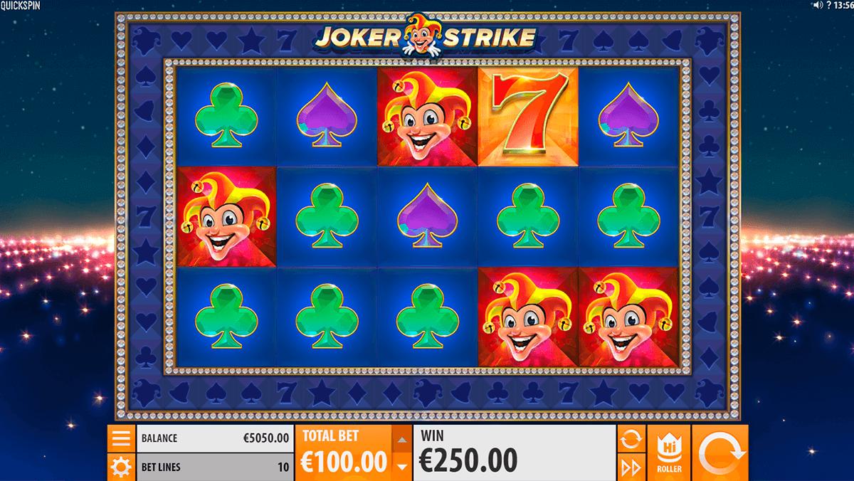 joker strike quickspin