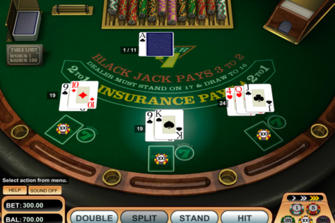 super  blackjack betsoft
